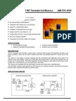 AM RF Transmisor