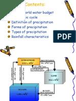 2-Hydrologic Cycle and Precipitation
