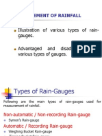 3-Measurement of Rainfall