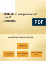 6 -Computation of Runoff