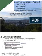 DataAnalysis_Lecture9