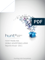Reporte Anual2011 HUNT Mobile Ads