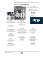 Santa Clara County (CA) FY 2013 Recommended Budget
