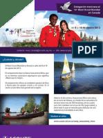 Convocatoria Moot Canada 2013