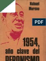 Ano Chave Do Peronismo Por Nahuel Moreno