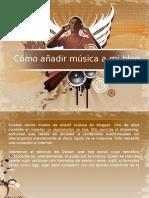 Tuorial añadir música en el blog