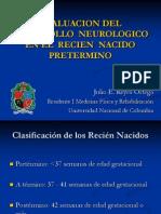 Desarrollo Neurologico Normal Del Recien Nacido Pretermino