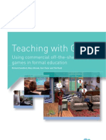 Futurelab - Teaching With Games - Using Commercial Off-The-Shelf Computer Games in Formal Education