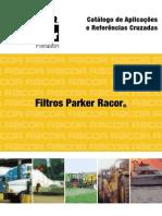 RACOR PARKER CATALOGO DE APLICACAO E REFERENCIAS CRUZADAS EM PDF