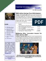 OSCC MAMPU January 2009 E-newsletter