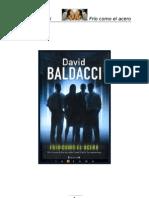 Frío como el acero - David Baldacci