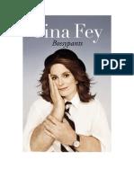 Bossypants -Tina Fey (Fragmento en Español)