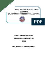 Panduan Disiplin 2011