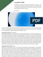 EarthSky's Meteor Shower Guide for 2012 | Astronomy Essentials | EarthSky