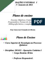 01 OpUnit Plano Ensino 2012
