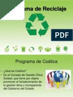 Presentación de programa de Ecología