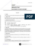 As 3706.6-2000 Geotextiles - Methods of Test Determination of Seam Strength