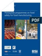 BSI PAS 220-2008 Prequisite Programmes on Food Safety for Food Manufacturing