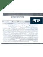 Artikel Inovasi Sosial Dan Perkembangan Bisnis