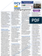 Pharmacy Daily for Fri 03 Aug 2012 - DMAA, scholarships, medicine exports, tobacco and much more