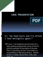 ER Case Presentation CSF