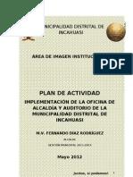 Plan Imagen Institucional