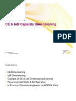 CE IuB Dimensioning