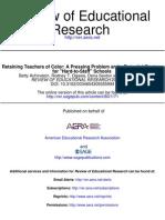 Retaining Teachers of Color