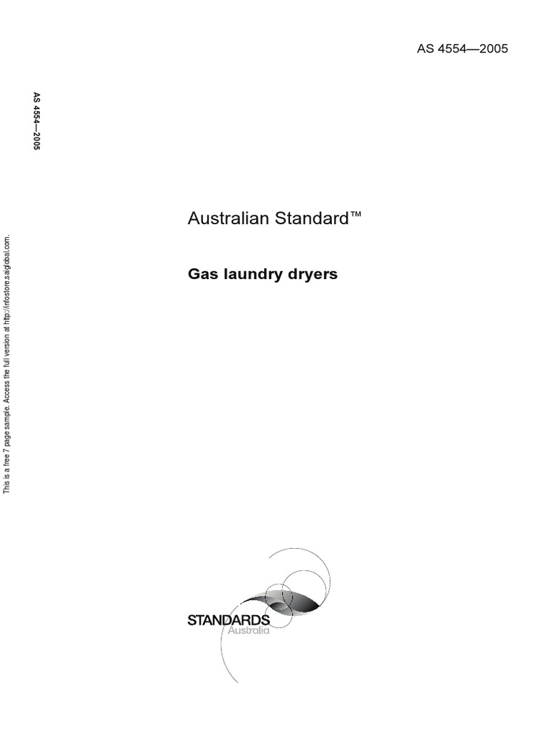Australian Standard As 5601 Gas Installations