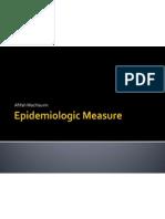 Epidemiologic Measure (6)