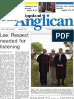 The Gippsland Anglican, August 2012