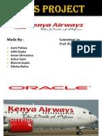 77133588 PPT on Kenya Airlines