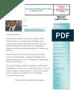 April, 2012 Newsletter