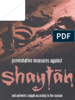 Preventative Measures Against Shaytan