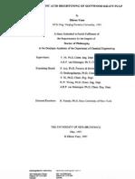 Peracetic Acid vs pH Decomposition (Koubek)