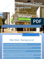 Scm Walmart Ppt