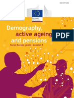 Social Europe guide Vol. 3 Demography, active ageing and pensions