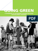 Going Green - A Handbook of Sustainable Housing Practices in Developing Countries