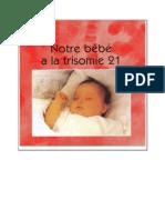 Notre bébé à la trisomie 21