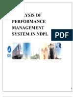 Analysis of Performance Management