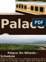 Palace on Wheels Schedulel Ppt
