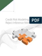 Credit Risk Modeling. Reject Inference Methods