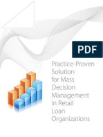 Practice-Proven Solution for Mass Decision Management in Retail Loan Organizations
