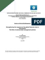 External Debt Management Pradhan