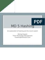 01 14 09 InfoSEC MD5 Hashing