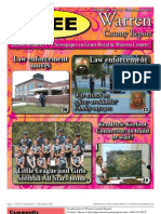 The Early August, 2012 edition of Warren County Report