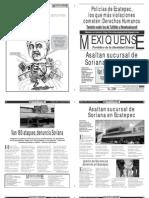 Versión impresa del periódico El mexiquense 3 agosto 2012