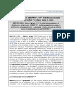 Nota de Prensa. Consorcio SIDEINFO
