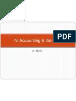 NI Accounting & the BOP