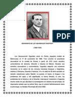 BIOGRÁFIA DE LEV SEVINOVICH VIGOTSKY